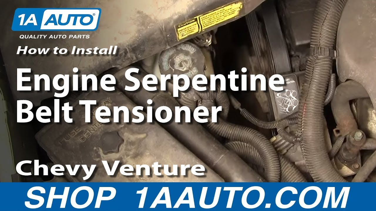 easy way remove rep serpentine belt ten youtube alternater