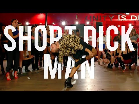 "YANIS MARSHALL HEELS CHOREOGRAPHY ""SHORT DICK MAN"" GILLETTE 20 FINGERS"