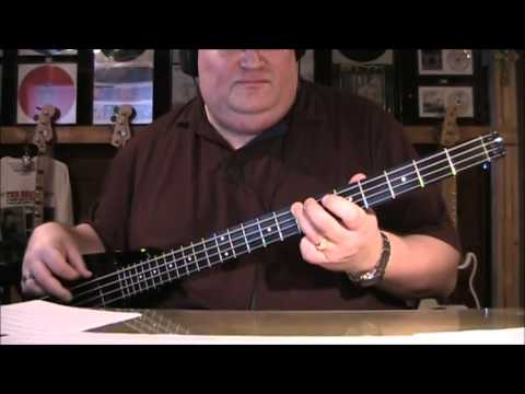 Billy Idol Rebel Yell Bass Cover with Bass Tab