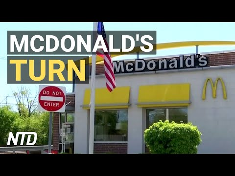 McDonald's Hit by Data Breach; Expert: Global Tax Talks Just Political Theater   NTD Business