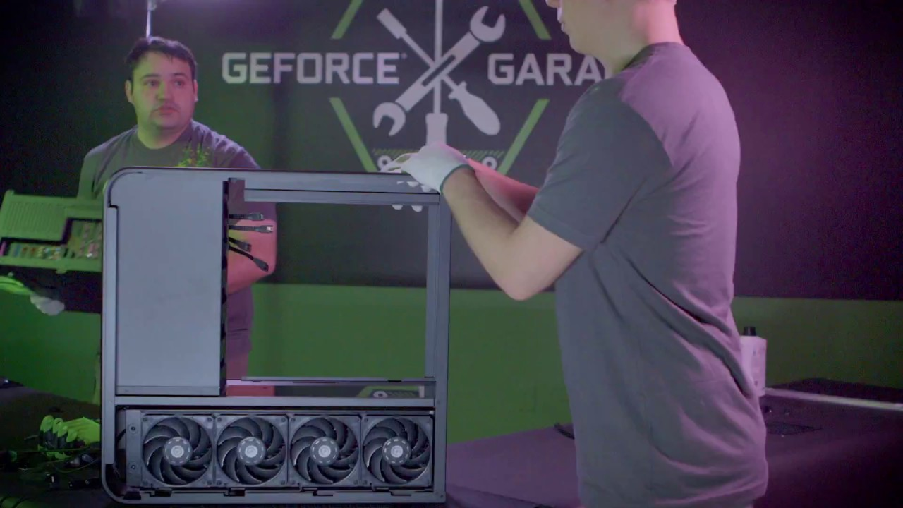 GeForce Garage: ультимативный ПК для GeForce GTX 1080 Ti