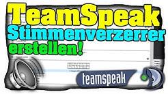 TeamSpeak 3 Stimmenverzerrer installieren! - Kostenlos Stimme verändern - Tutorial (Deutsch) 🔊