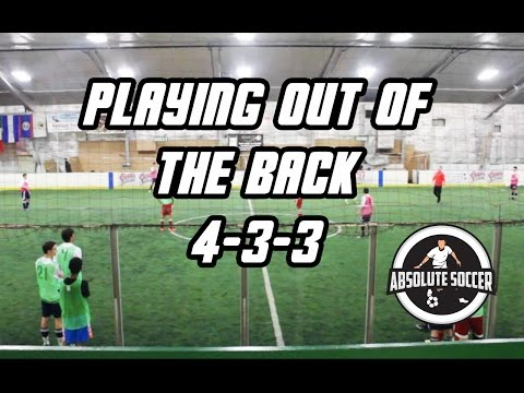 4-3-3 Playing Out Of The Back
