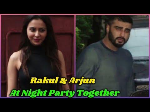 Rakulpreet Singh and Arjun kapoor Night Party Together Mp3