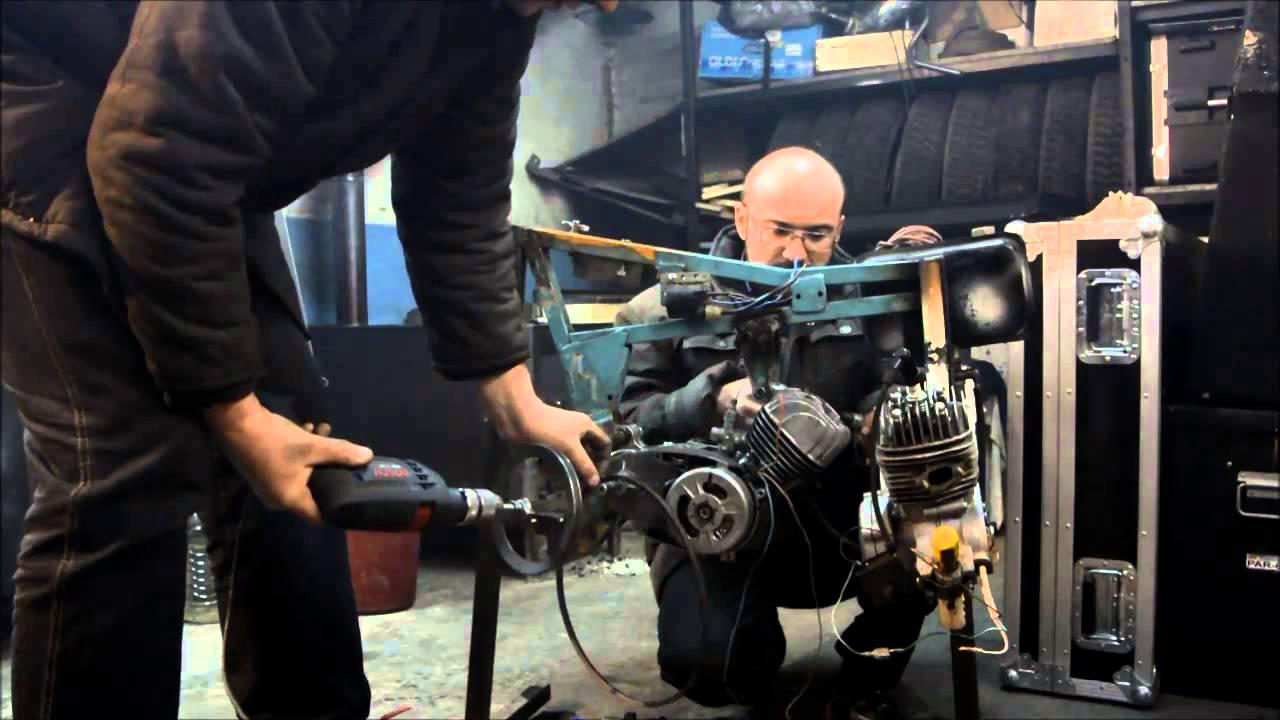 Запуск мотора со слетевшей при установке маховика шпонкой