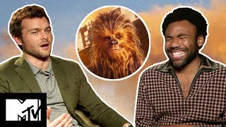 Solo: A Star Wars Story Cast Show You How To Do A Chewbacca Noise | MTV Movies