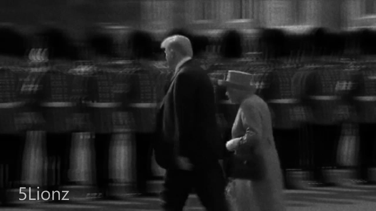 Donald Trump Meets Queen Elizabeth - Benny Hill Style