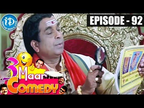 COMEDY THEENMAAR - Telugu Best Comedy Scenes - Episode 92