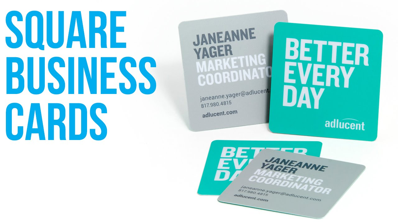 Square Business Cards San Antonio TX 210-202-1800 | Printing ...