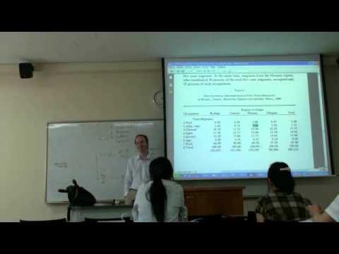 Environmental Sociology 7 (4/6): New Ecological Paradigm: Example: Environmental Underclasses