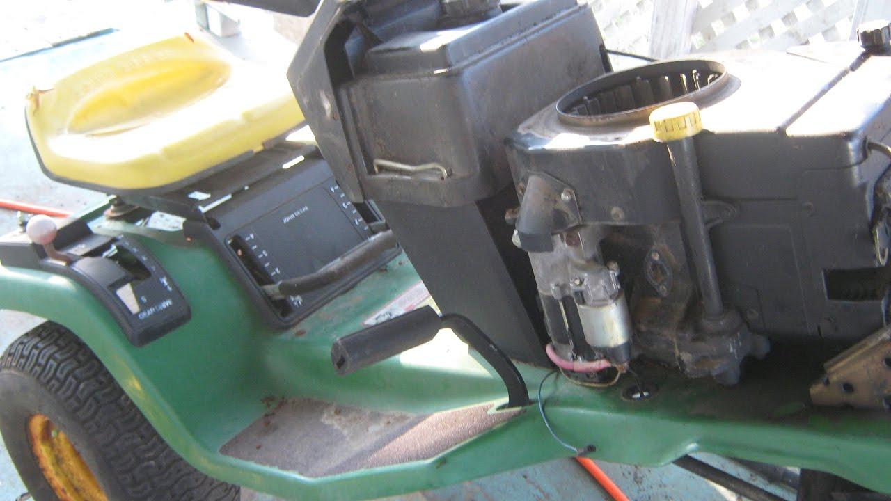 stx38 wiring diagram black deck vt cooling fan john deere clutch steering and repairs youtube