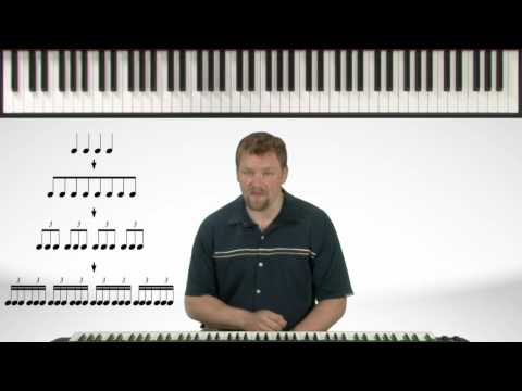 Counting 16th Note Triplets - Easy Piano Theory Lessons