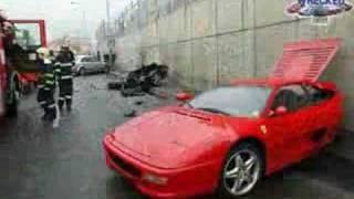 Crash - - voiture de luxe --ca fait mal au coeur