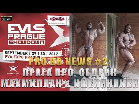 PRO BB NEWS #2: Прага Про, Седрик МакМиллан & Именинники