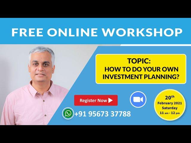 How to do Your Own Investment Planning | Free Online Workshop