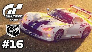 GRAN TURISMO SPORT - Laguna Seca - Dodge Viper SRT GT3-R - Gameplay - Part 16