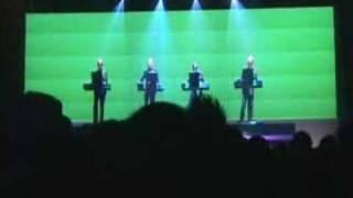 """Kraftwerk """"ComputerLiebe"""" Zaragoza 20061111"""