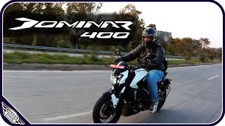 DOMINAR 400 REVIEW /50 KM RIDE/ DETAILED INFORMATION