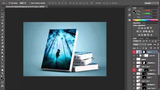 Book Cover Display Mockup Free Download