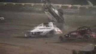 CRAWFORD SPRINT CAR CRASH