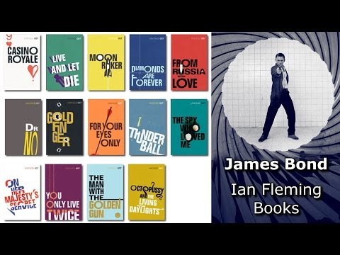 Ian Fleming James Bond Books