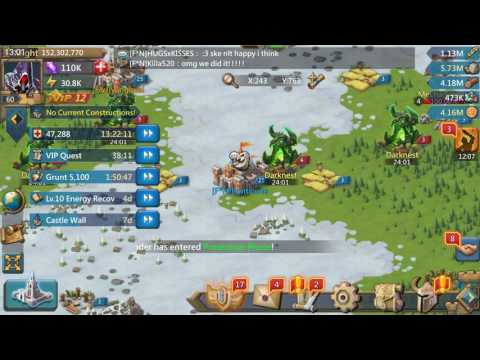 Lords Mobile - Kingdom Clash End And Two Forts Captured