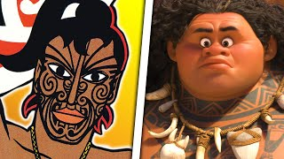 The Messed Up Origins of Maui | Disney Explained - Jon Solo