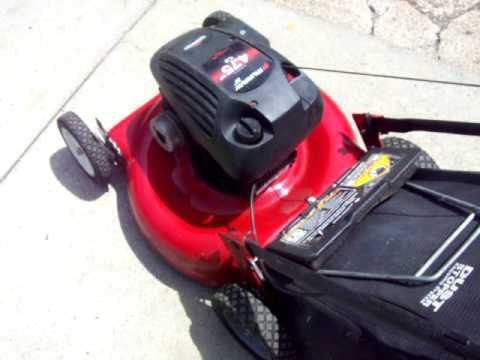 murray bagger mulcher lawn mower demo 6 jul 14 youtube. Black Bedroom Furniture Sets. Home Design Ideas