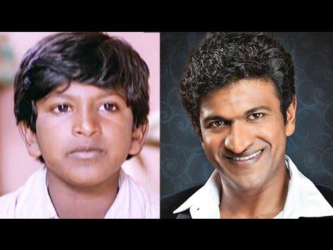 Kannada Actors Worked As Child Artist   Arjun Sarja   Puneeth Rajkumar