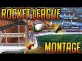 CRAZY FIRST ROCKET LEAGUE MONTAGE (Ceiling Shots, Double Touches, Dribbling plays)