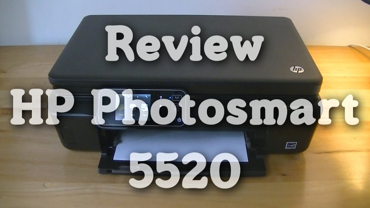 Review Hp Photosmart 5520 Youtube