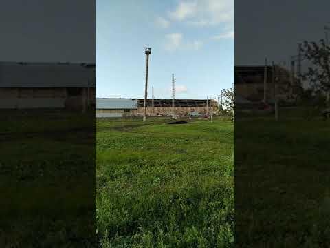 Август 2019.Ураган в Заглядино. Оренбургская область.