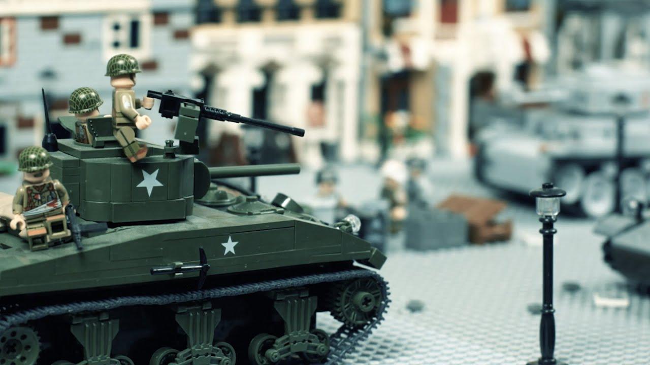 Download Lego WWII: Operation Cobra   Stopmotion Brickfilm
