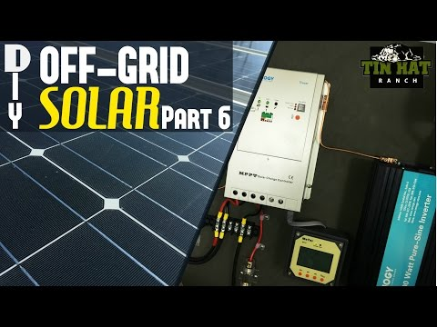 DIY Off Grid Solar- The Battery Box and Safety