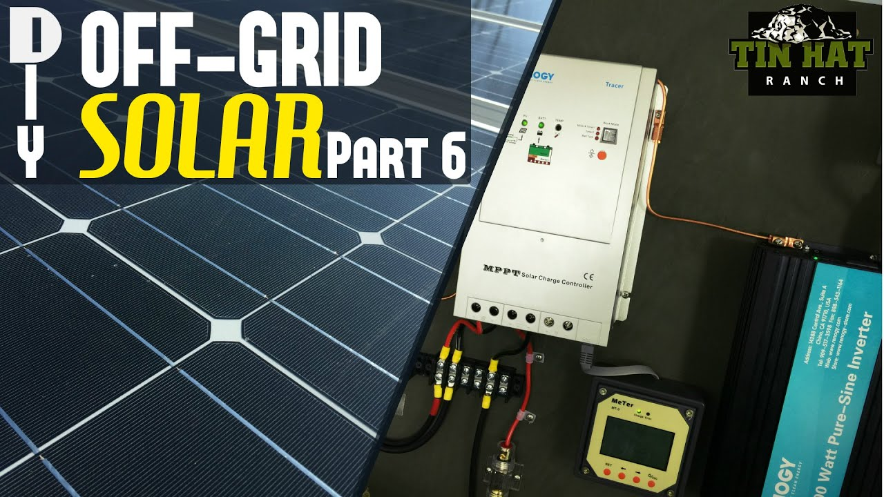 Diy Off Grid Solar The Battery Box And Safety Youtube Wiring Diagram For Panel To
