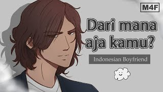 [ENG/INDO SUB] Sneaking home to your Angry Possessive Indonesian Boyfriend | Pacar Posesif | ASMR RP