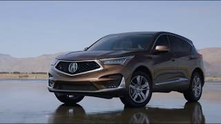 2019 Acura RDX - Canyon Bronze Metallic vs the competition