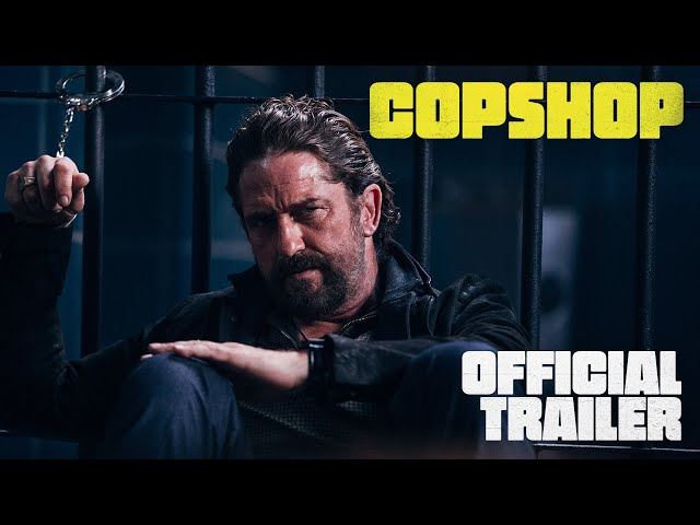 COPSHOP | Official Trailer | Now Playing Only In Theatres!