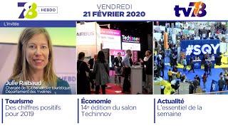 7/8 L'Hebdo. Edition du vendredi 28 février 2020