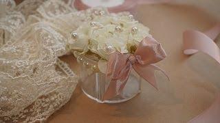 DIY wedding favors   Beautiful wedding favor box easy to make