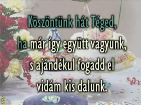 youtube com boldog születésnapot Halasz Judit Boldog szuletesnapot   YouTube youtube com boldog születésnapot