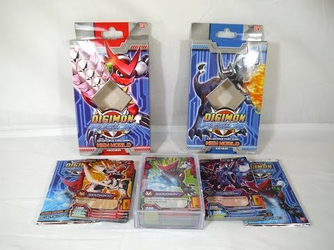 Unboxing: Digimon Fusion CCG - New World