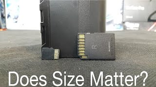 Does SD Card Size Matter?
