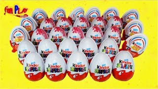 30 Kinder Surprise Egg - Kinder Joy, Kinder Disney Fairies Limited Edition | Fan PLAY Toys