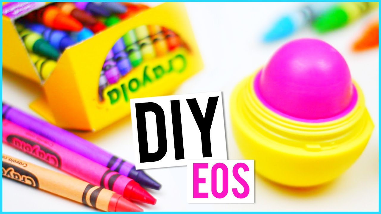 diy eos out of crayons youtube