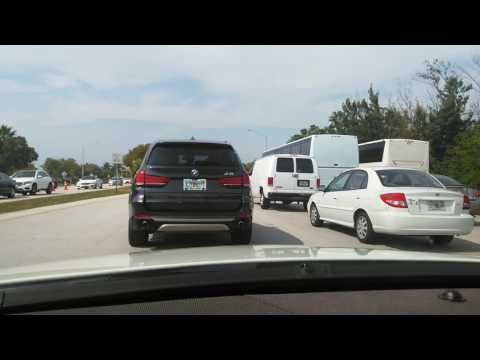 Drive from Key Biscayne Florida to Miami Florida