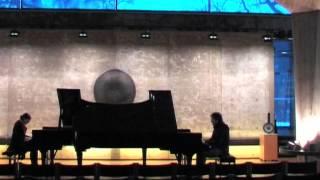 PianoDuo ConFuego plays Manuel Infante´s Tres danzas andaluzas: II. Sentimiento REHEARSAL PART 2