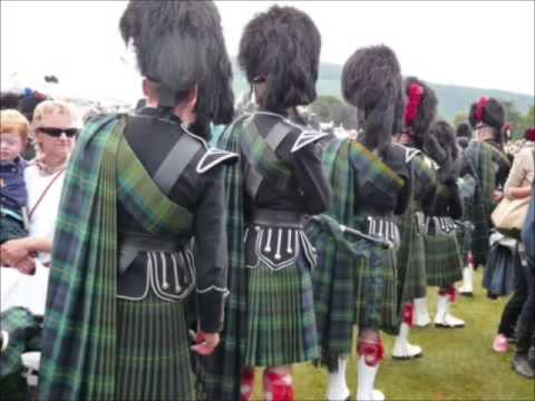 The Water Is Wide Scottish Bagpipes