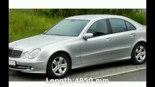2003 Mercedes-Benz E 220 CDI Estate Automatic -  Engine Transmission Technical Details