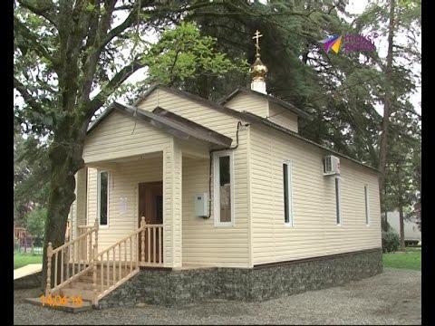 В селе Орел-Изумруд открылся храм в честь Серафима Саровского
